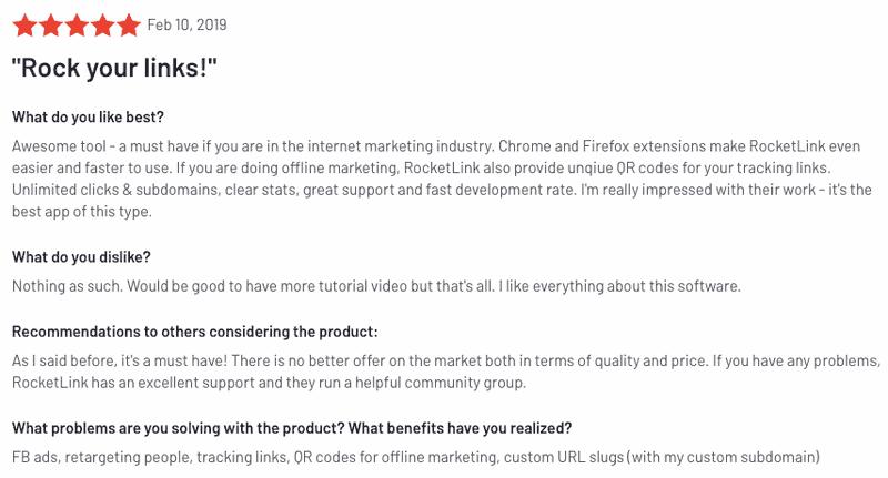 5 Reasons Why Customers Love Rocketlink